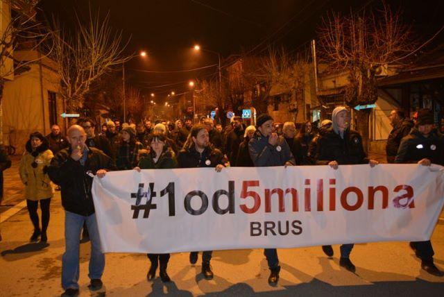 Brus protest090219