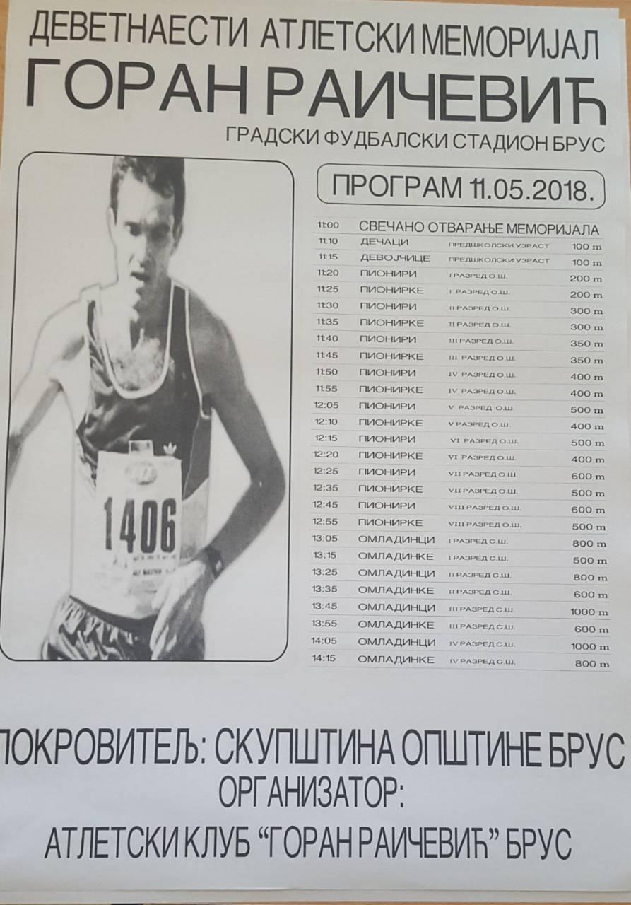 MemorijalGRaičevic 2018